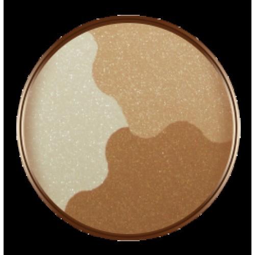 Бронзираща компактна пудра BRONZER (delicate tan)