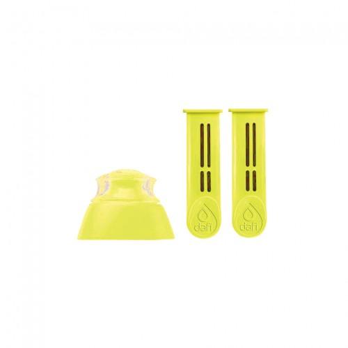 DAFI - Комплект  резервни филтриращи елементи – 2 бр. жълти+капачка