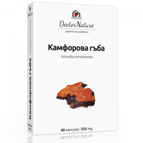 Камфорова гъба /Antrodia cinnamomea/ - 60 капсули