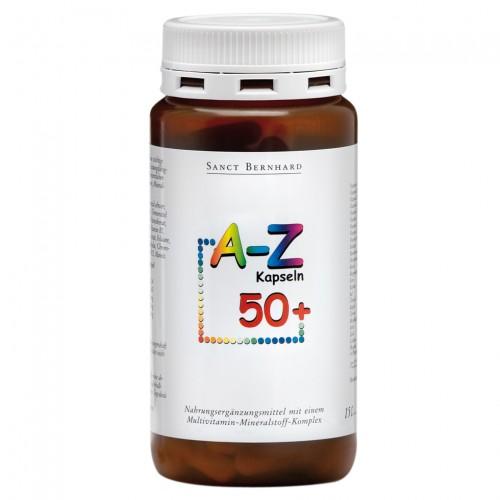 Мултивитамини и минерали A – Z 50+ /150 капсули/