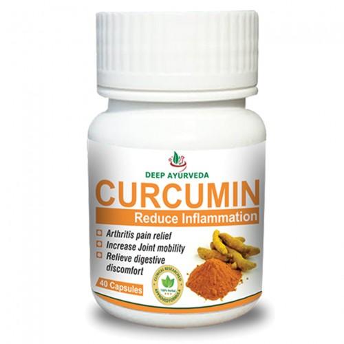 Куркумa (Curcumin), 40 капсули
