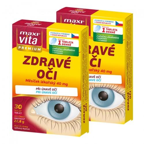 2 броя Здрави очи, 30 таблетки VITAR
