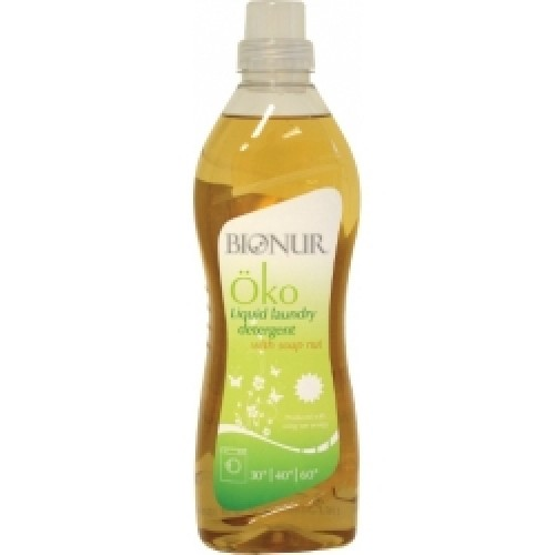 Eкологичен течен перилен препарат BIONUR със сапунено орехче