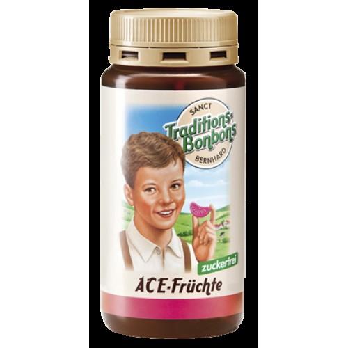 Детски плодови бонбони с витамини А, C и E без захар
