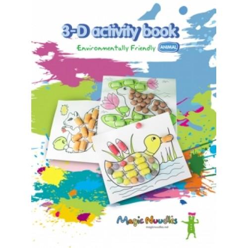 Magic Nuudles 3D книжка (животни)