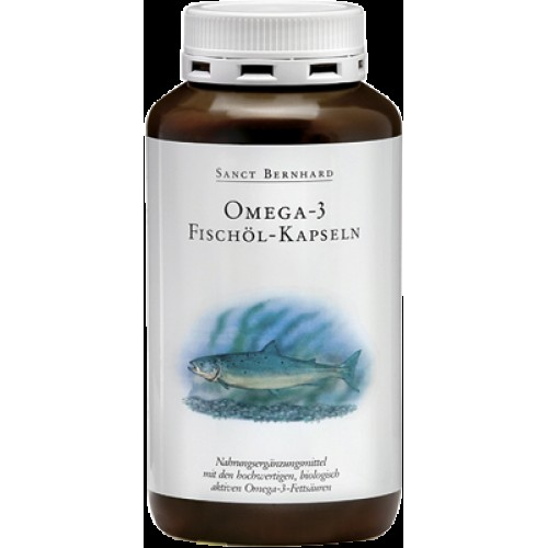 Омега – 3 рибено масло, 120 капсули