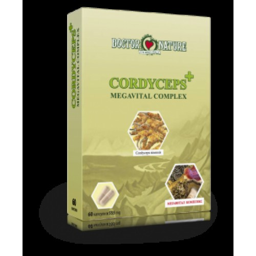 Кордицепс + ( Cordyceps + ) 60 капсули