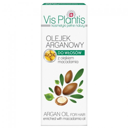Vis Plantis Арганово масло за коса (с масло от макадамия), 30 мл
