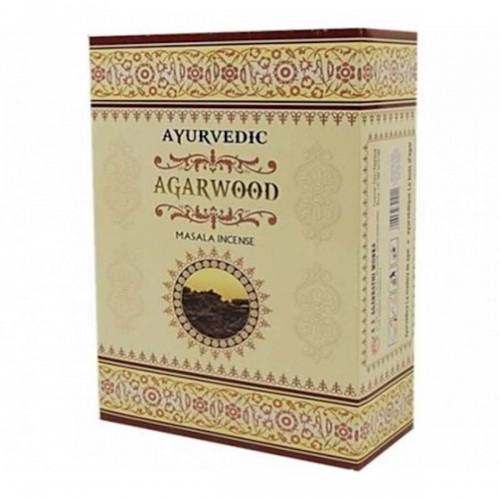 Аюрведични ароматни пръчици Agarwood Масала 10 гр.