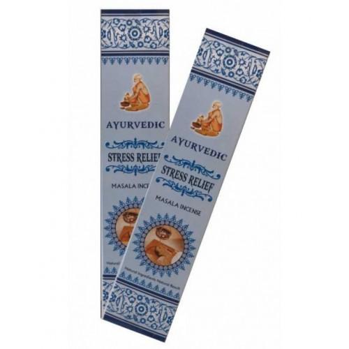 "Аюрведични ароматни пръчици ""Stress Relief"" - Масала 10 гр."