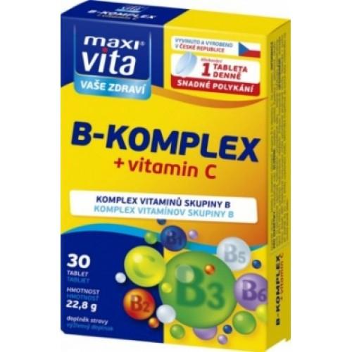 Витамин B комплекс+Витамин C 30 - таблетки