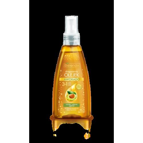 Златно масло Авокадо 3 в 1 – за лице, тяло и коса