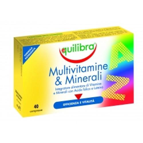 МУЛТИВИТАМИНИ И МИНЕРАЛИ + ЛУТЕИН 40 таблетки