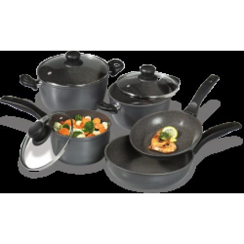Комплект кухненски съдове за готвене от 8 части -STONELINE