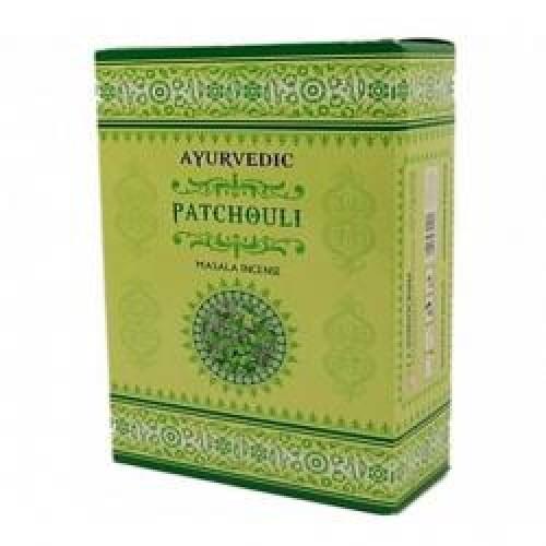 "Аюрведични ароматни пръчици ""Patchouli"" (Пачули) - Масала 10 гр."