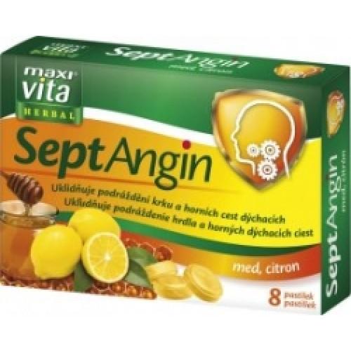 Септангин мед и лимон, 16 пастили
